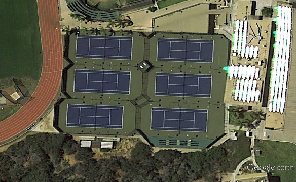 PLNU Tennis Courts